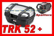 GIVI BAULETTO VALIGIA TREKKER TRK52  TRK 52N TRK52N + SPALLIERA E133