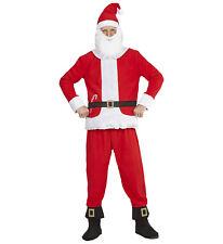 Vestito Da Babbo Natale Completo Costume Adulto PS 25806