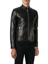 ★Giacca Giubbotto Uomo in di PELLE 100% Men Leather Jacket Veste Homme Cuir R50c