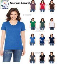 American Apparel Ladies' Poly Cotton Short Sleeve Crewneck T-shirts BB301W SALE!