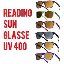 Lettori Sole Occhiali Da Lettura Occhiali da sole UV400 di marca a molla