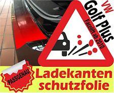 Ladekantenschutz Folie VW Golf Plus ab 2010 Schutz Folie klar transparent