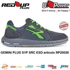 UPOWER SCARPE ANTINFORTUNISTICA GEMINI PLUS S1P SRC ESD U-POWER RED UP PLUS