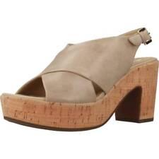 Sandalo GEOX D ZAFERLY, Color Marrone