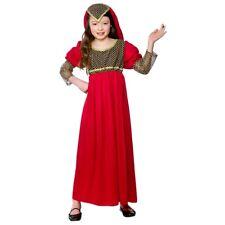 Child PRINCESS JULIET Fancy Dress Tudor Costume Girls Outfit Book Week Age 3-10