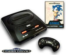 Mega Drive - Konsole MD 2 (inkl. Sonic 1, original Controller & Zub.)