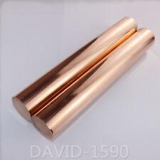 C11000 Cu-ETP Pure Copper Stick  Copper Round Bar Solid Rods Dia. 4-80mm L 200mm