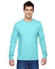 Fruit of the Loom SFLR Adult 4.7oz 100% Sofspun Cotton Jersey Long-Sleeve TShirt