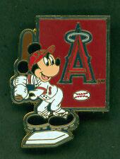 DISNEY PIN MAJOR LEAGUE BASEBALL LOS ANGELES ANGELS OF ANAHEIM PIN 4 YEARS OLD