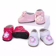 20-22'' Bebe Crib Shoes Newborn Baby Toddler Girl Boy Handmade Doll Nursery Gift