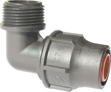 20 mm T-Stück 3 x Lock PP Fitting Nutlock  System Lock für PE Rohr PN4 16