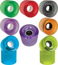 Ruedas Longboard Skateboard Monopatín Globe Bantam - 4 ruedas con cojinetes