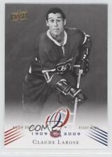 2008 Upper Deck Montreal Canadiens Centennial Set #118 Claude Larose Hockey Card