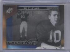 2013 SPx Shadow Box #SH-ST Bart Starr Alabama Crimson Tide Football Card