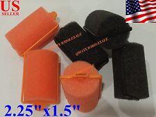 6/12/24 Pcs JUMBO SOFT Foam Hair Rollers culer Professional Sponge Salon Use NEW