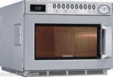 Forno microonde 1500 Watt Samsung acciaio professionale 2 magnetron Lt 26 digit.