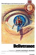 NEW DELIVERANCE MOVIE 1972 70s FILM ORIGINAL CINEMA ART PRINT PREMIUM POSTER