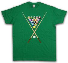 POOL BILLARD II T-SHIRT Eightball 8 Ball Gamble Player Gambling Snooker