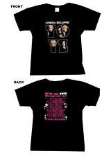 CINEMA BIZARRE - WE'RE ALL TOYZ EUROPEAN TOUR 2009 GIRLIE SHIRT - GRÖSSE: L  NEU