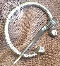Viking Penanular Solid Brass Brooch - Fibulae - Sca Celtic Medieval Renaissance