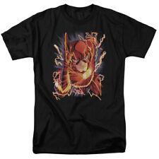 DC Comics New 52 The Flash Comic Cover #1 Licensed Adult T Shirt