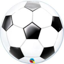 Fútbol burbujas globo aire o helio Llenar 55.9cm Decoración Fiesta