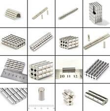 ★TheQ★ Neodym Supermagnet Stabmagnete Starke Magnete Ø2-Ø20 mm Höhe bis 20 mm