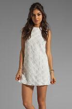 dolce vita - Size 8 (MEDIUM) White Olie Crochet Lace Tank Dress $138.00 (M)