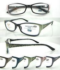 L376 Superb Quality Womens Graceful Reading Glasses/Spring Hinges/Modern Fashion