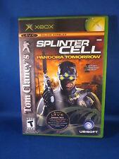 Xbox Tom Clancys Splinter Cell Pandora Tomorrow Game