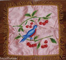 Vintage Satin Pillowcase Stephenville Newfoundland Canada Misspelled STEVENVILLE