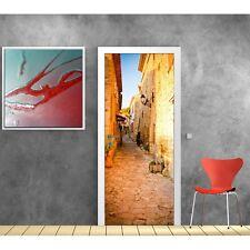 poster poster formato porta decocrazione Vicolo sole 749 Art déco Adesivi