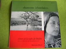 LP CHANSONS IRLANDAISES-DUBLIN-WALDEMAR ROSEN -HM