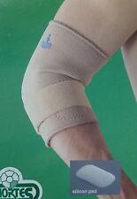 Codera epicondilitis con almohadilla de silicona OPPO 1480. Codo tenista.