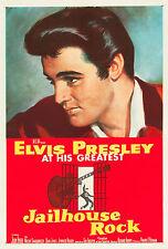 """JAILHOUSE ROCK"" ELVIS PRESLEY Rétro film A1A2A3A4Sizes poster"