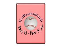 2012 Topps Bowman Platinum Baseball #1-100 - Finish Your Set - WE COMBINE S/H