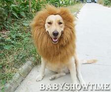 Pet Costume Lion Mane Wig Hair for Large Dog Halloween Clothes Fancy Dress up AP