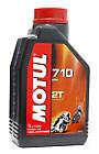 MOTUL 710 ester, 2T (Two-Stroke) Synthetic Motor Oil, Lubricant, 1.05 Quart