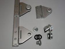 Scharnier Aluminium mit Nutenstein M4 Gewindeplatte M4 für Aluprofil 20x20 Nut 6