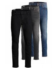 Jack & Jones Herren Jeans Hose Slim Fit Skinny - schwarz blau grau Stretch NEU