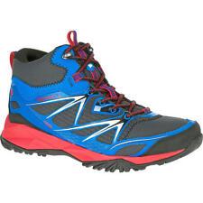 NIB Merrell J35361 Men's Blue Capra Bolt Mid Waterproof Hiking Shoes Choose Size