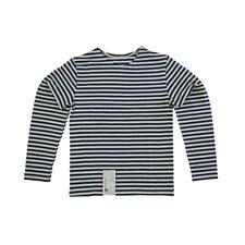 Genuino infantil azul marino Camiseta de manga larga Rusa Niños Top -