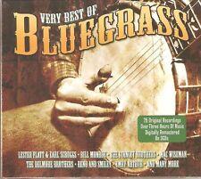 VERY BEST OF BLUEGRASS - 3 CD BOX SET - 75 TRACKS