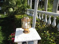 Bronze Pedestal Nautical Dock Light-Large bronze nautical marine ship light