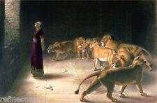 Daniel in the Lions Den Briton Riviere Giclee Canvas Print