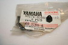 5 NOS Yamaha snowmobile crown nuts windshield phazer vk540 pz480 plastic cap