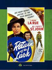 Return of the Lash,New DVD, Lash LaRue, Al St. John, Mary Maynard, Buster Slaven