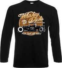 Maglioncino manica lunga top con un US Car-, Hot Rod - &'50 Style modello whisky Dick