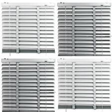 Alu Jalousie Tür Fenster Aluminium Rollo Grau Weiß Lamelle 50 mm Plissee Vorhang