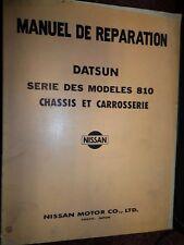 Nissan MAXIMA 810 Datsun 1976.... : MANUEL D'ATELIER